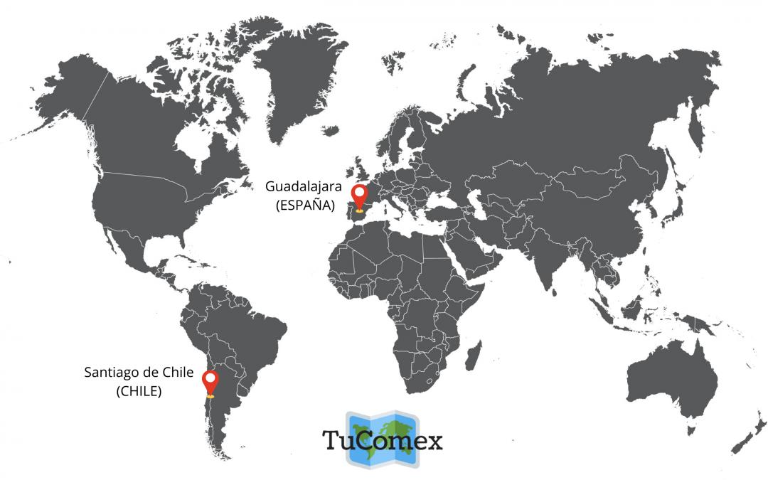 La nueva base operativa en Chile