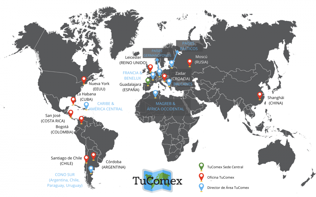 TuComex da cobertura a nuevos países